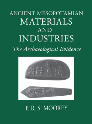 Cover for the book Ancient Mesopotamian Materials and Industries