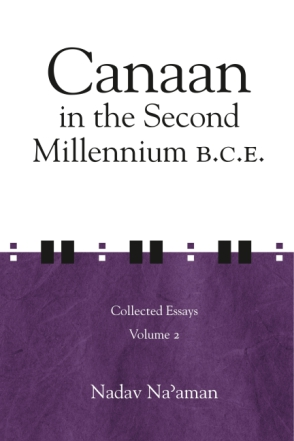 Cover for the book Canaan in the Second Millennium B.C.E.