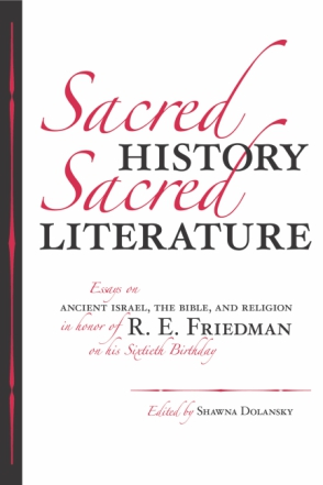 Cover for Sacred History, Sacred Literature