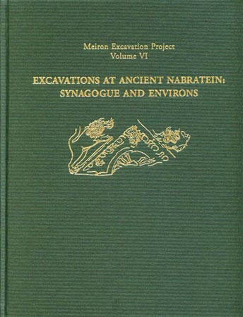 Cover for the book Excavations at Ancient Nabratein: Synagogue and Environs