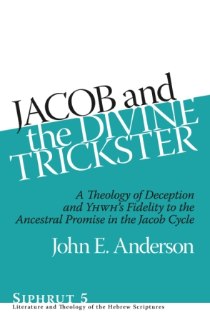 Cover for the book Jacob and the Divine Trickster