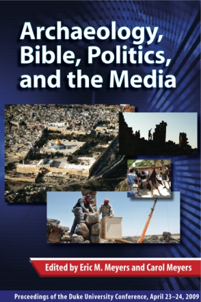 Cover for the book Archaeology, Bible, Politics, and the Media