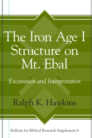 Cover for the book The Iron Age I Structure on Mt. Ebal