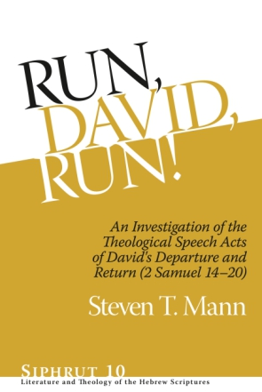 Cover for the book Run, David, Run!
