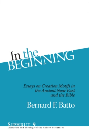 Cover for the book In the Beginning