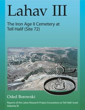 Cover for the book Lahav III: The Iron Age II Cemetery at Tell Halif (Site 72)