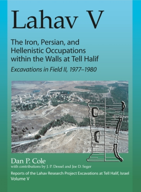 Cover for the book Lahav V: The Iron, Persian, and Hellenistic Occupation within the Walls at Tell Halif