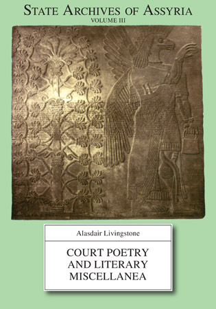 Cover for the book Court Poetry and Literary Miscellanea