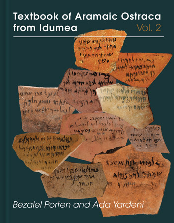 Cover for the book Textbook of Aramaic Ostraca from Idumea, volume 2