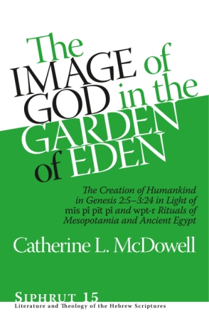 Cover for the book The Image of God in the Garden of Eden