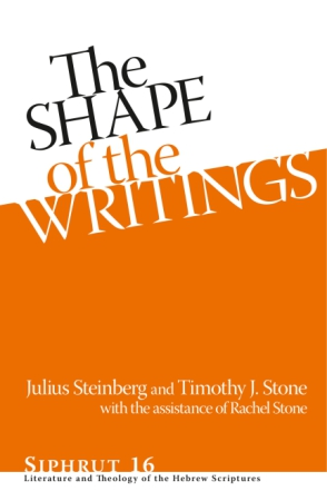 The Shape of the Writings