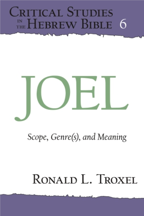 Cover image for Joel: Scope, Genre(s), and Meaning By Ronald L. Troxel