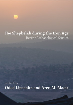 Cover for the book The Shephelah during the Iron Age