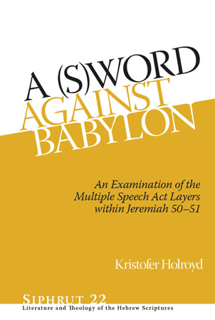 Cover for A (S)Word against Babylon