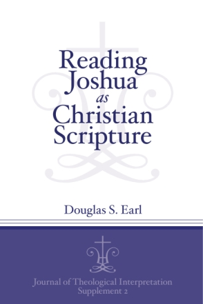Cover for Reading Joshua as Christian Scripture
