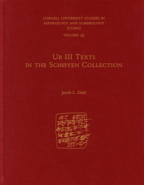 Cover for Ur III Texts in the Schøyen Collection