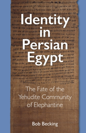 Cover for the book Identity in Persian Egypt