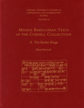 Middle Babylonian Texts in the Cornell Collections, Part 2