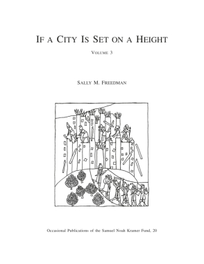 Cover for If a City Is Set on a Height, Volume 3