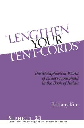 "Cover for ""Lengthen Your Tent-Cords"""
