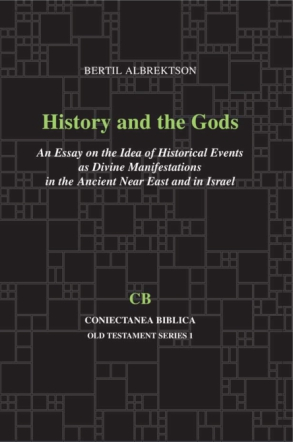 Cover for the book History and the Gods