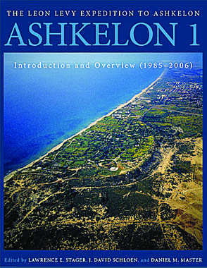 Cover for the book Ashkelon 1