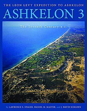 Cover for the book Ashkelon 3