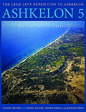 Cover for the book Ashkelon 5