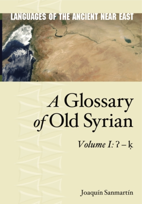 Cover for the book A Glossary of Old Syrian