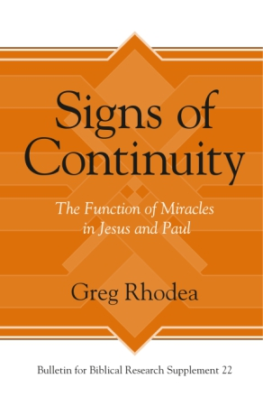 Cover for the book Signs of Continuity