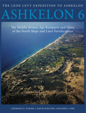 Cover for the book Ashkelon 6