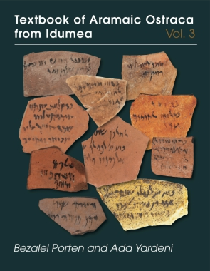 Cover for the book Textbook of Aramaic Ostraca from Idumea, volume 3