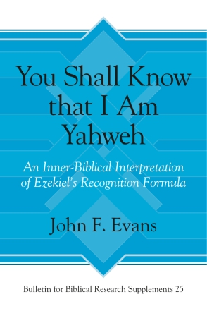 You Shall Know that I Am Yahweh