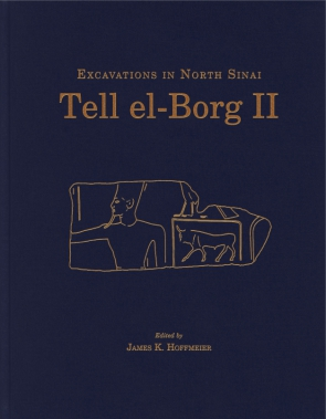 Cover for the book Tell el-Borg II