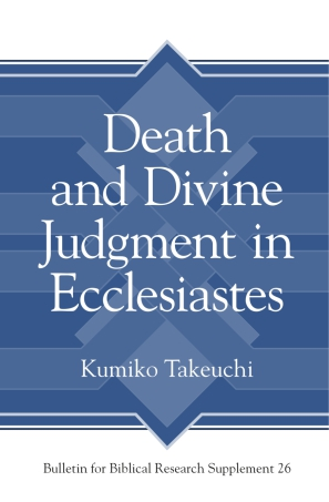Death and Divine Judgment in Ecclesiastes