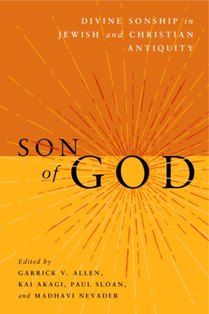 Cover for the book Son of God