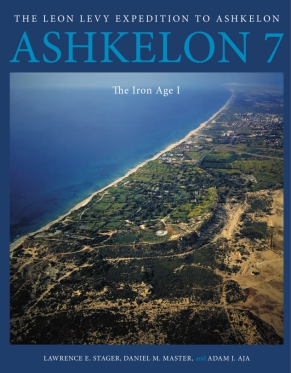 Cover for the book Ashkelon 7