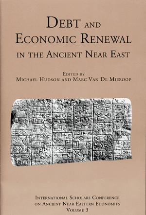 Cover for the book Debt and Economic Renewal in the Ancient Near East