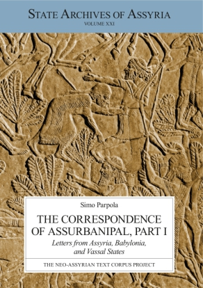 Cover for The Correspondence of Assurbanipal, Part I