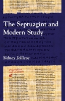 Cover image for The Septuagint and Modern Study By Sidney Jellicoe
