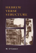 Cover image for Hebrew Verse Structure By Michael Patrick O'Connor