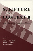 Cover image for Scripture in Context II: More Essays on the Comparative Method Edited by William W. Hallo, James C. Moyer, and Leo G. Perdue