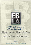 Cover image for Eblaitica: Essays on the Ebla Archives and Eblaite Language, Volume 2 Edited by Cyrus H. Gordon and Gary A. Rendsburg