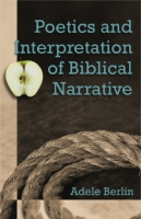 Cover image for Poetics and Interpretation of Biblical Narrative By Adele Berlin