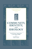Cover for Community, Identity, and Ideology
