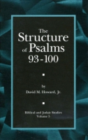 Cover for The Structure of Psalms 93 - 100