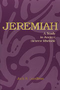 Cover image for Jeremiah: A Study in Ancient Hebrew Rhetoric By Jack R. Lundbom
