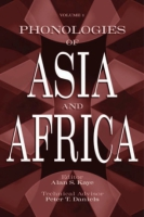 Cover image for Phonologies of Asia and Africa Edited by Alan S. Kaye and Peter T. Daniels
