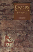 Cover image for Exodus: The Egyptian Evidence Edited by Ernest S. Frerichs and Leonard H. Lesko