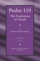 Cover image for Psalm 119: The Exaltation of Torah By David Noel Freedman